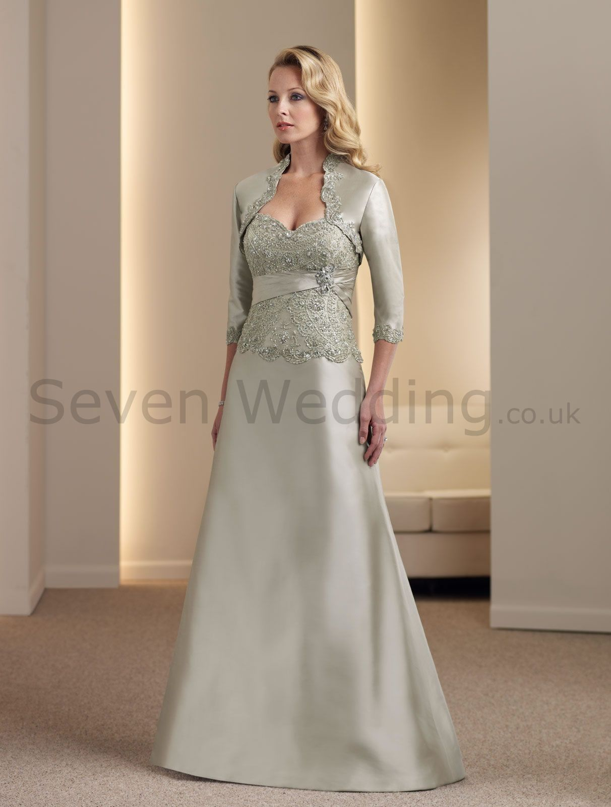 David S Bridal Mother Of The Bride Lace Dress Hand