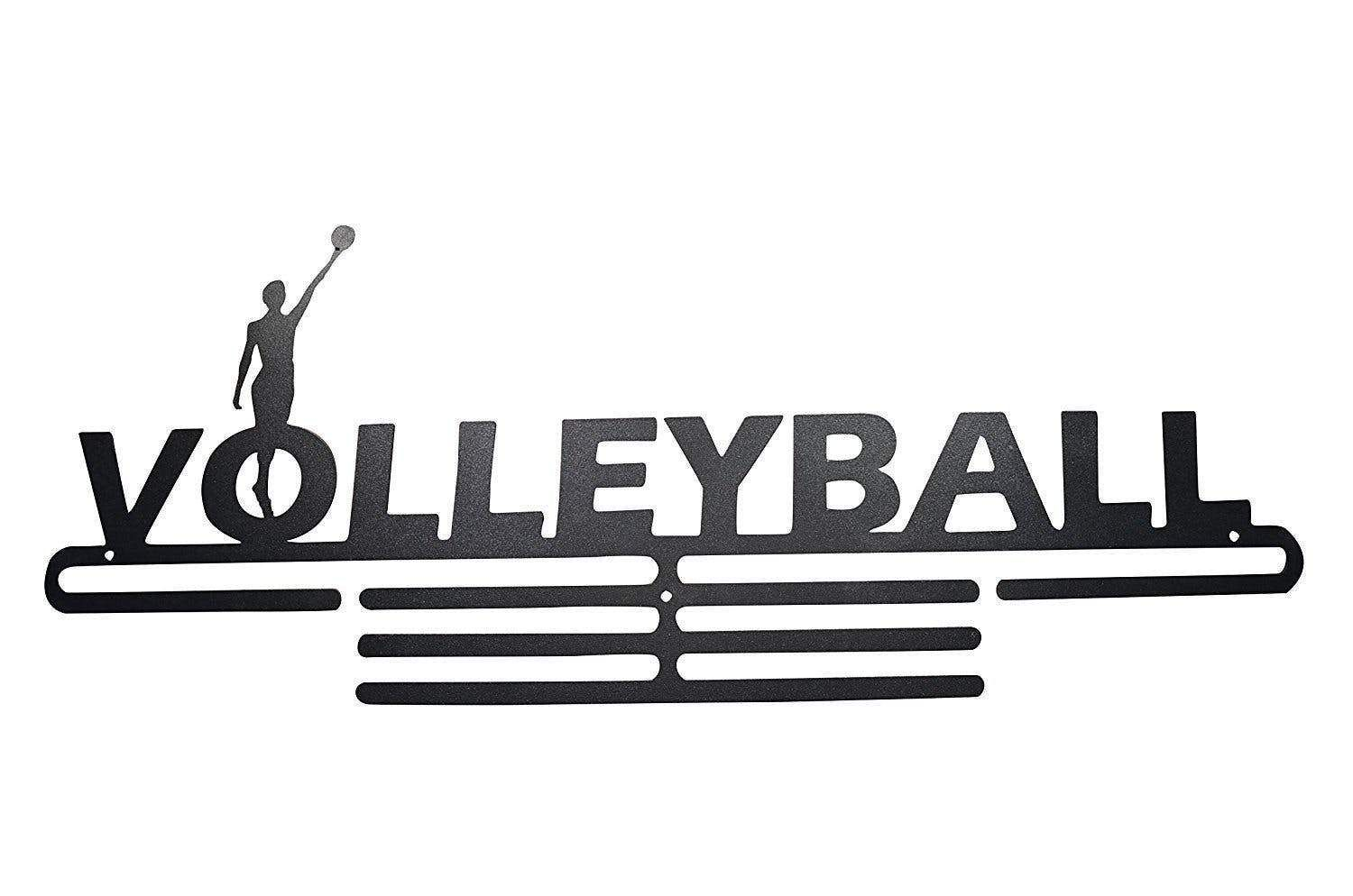 Volleyball Medal Display Rack With Images Volleyball Medal Display Medal Hanger