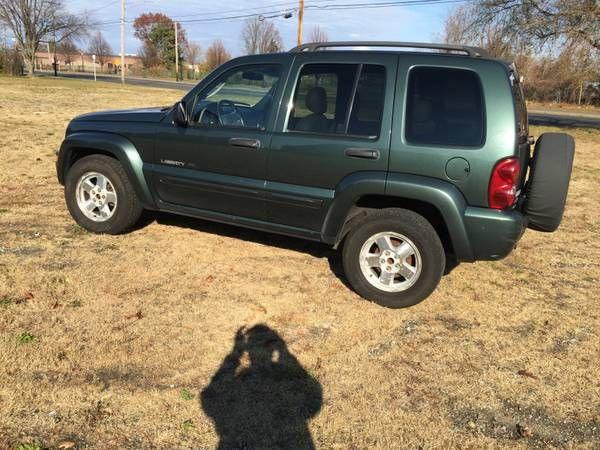 2002 Jeep Liberty Limited Edition Suv