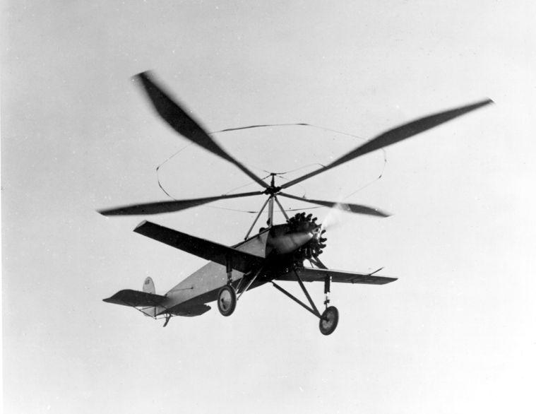 1926 Cierva C-8 (Inglaterra)