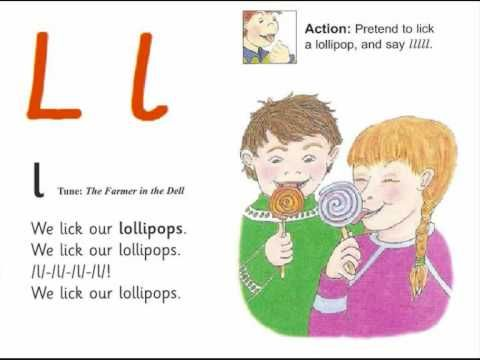 Jolly Phonics is a program designed to help children learn