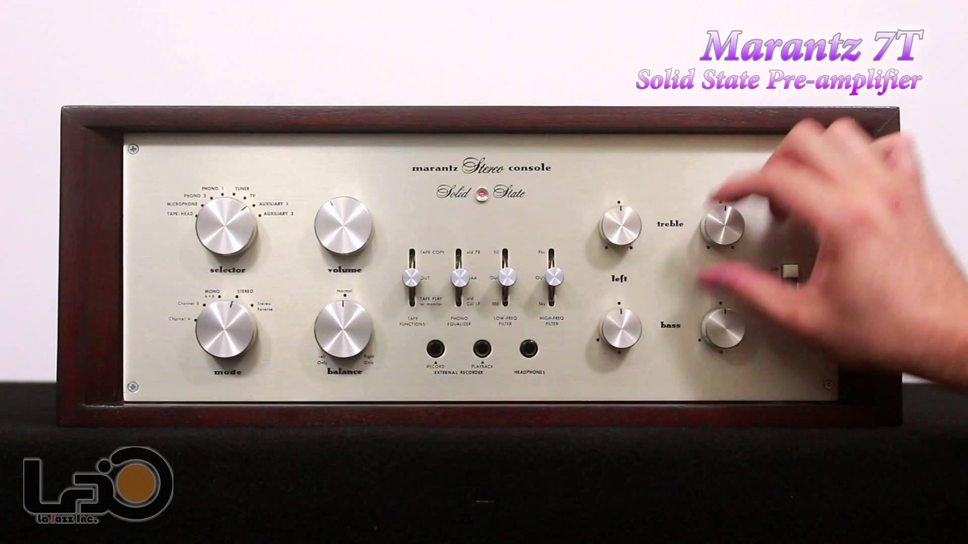 Marantz 7T Solid State Pre Amplifier