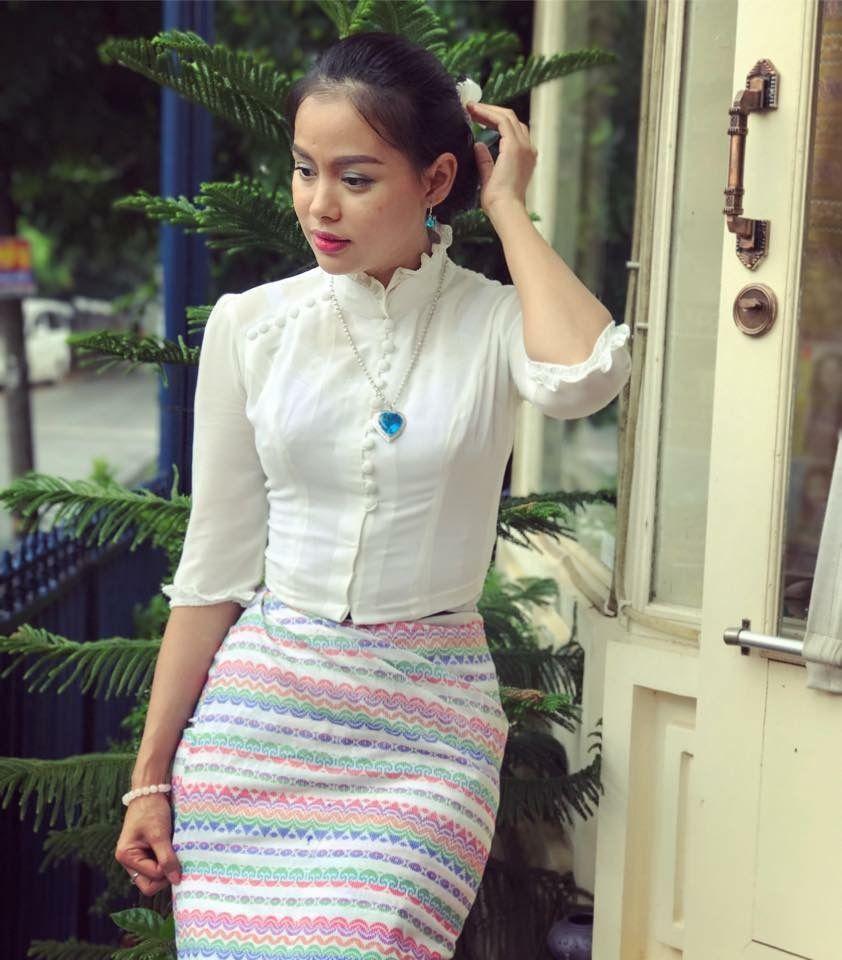 Pin By Su Latt Tun On #MyanmarDress