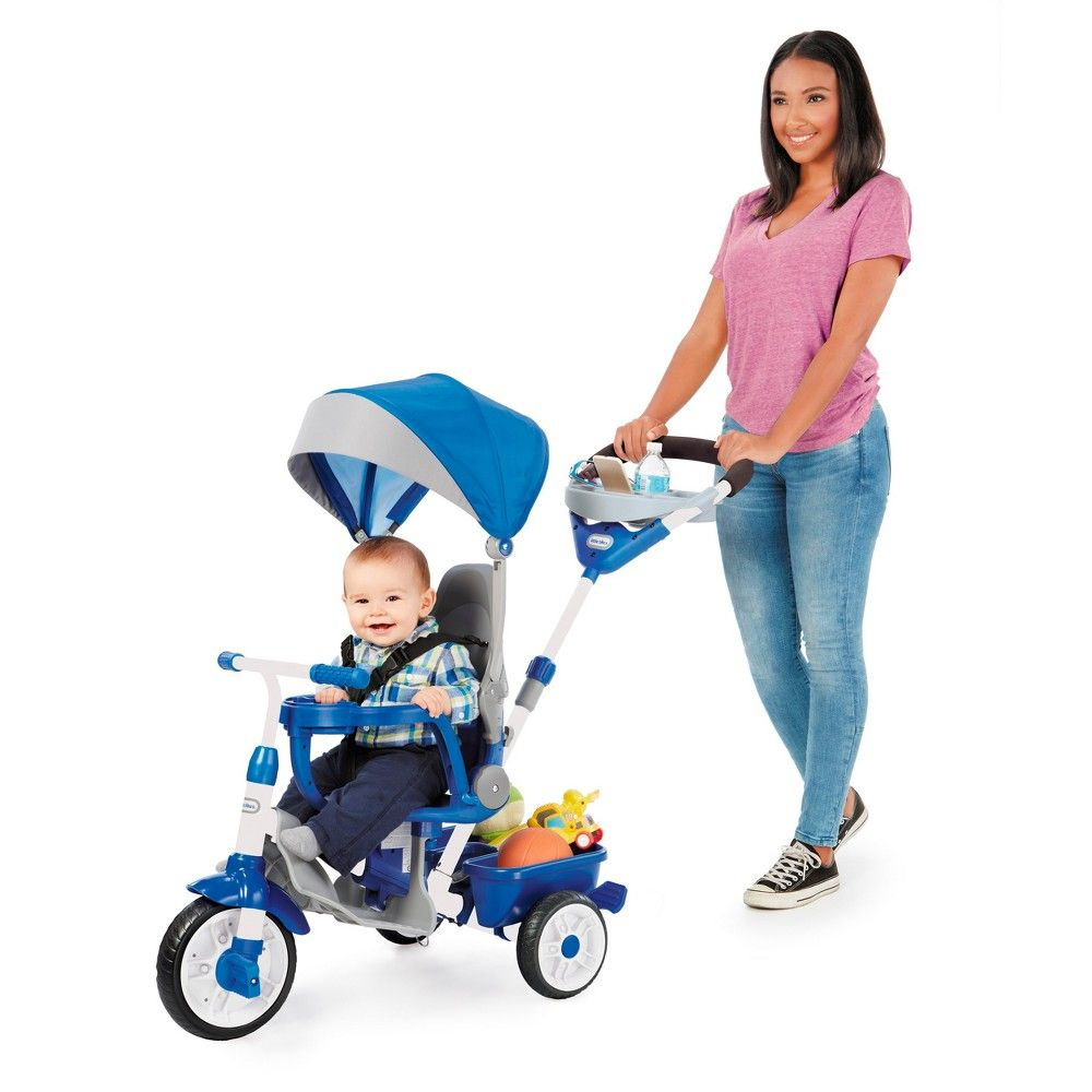 50d294ee12e Little Tikes Perfect Fit 4-in-1 Trike - Blue | Products | Fit 4 ...
