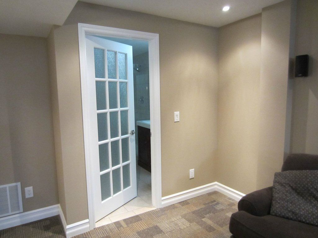 full basement remodel pictures from unfinished to finished ...
