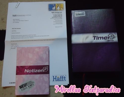 I won a nice package from Häfft, because I wrote a very good blogpost.
