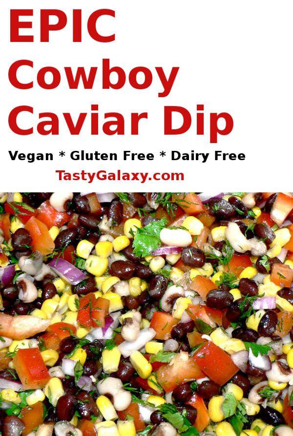 Cowboy Caviar Recipe - Vegan, Gluten Free