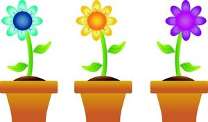 Image result for spring flowers clipart free