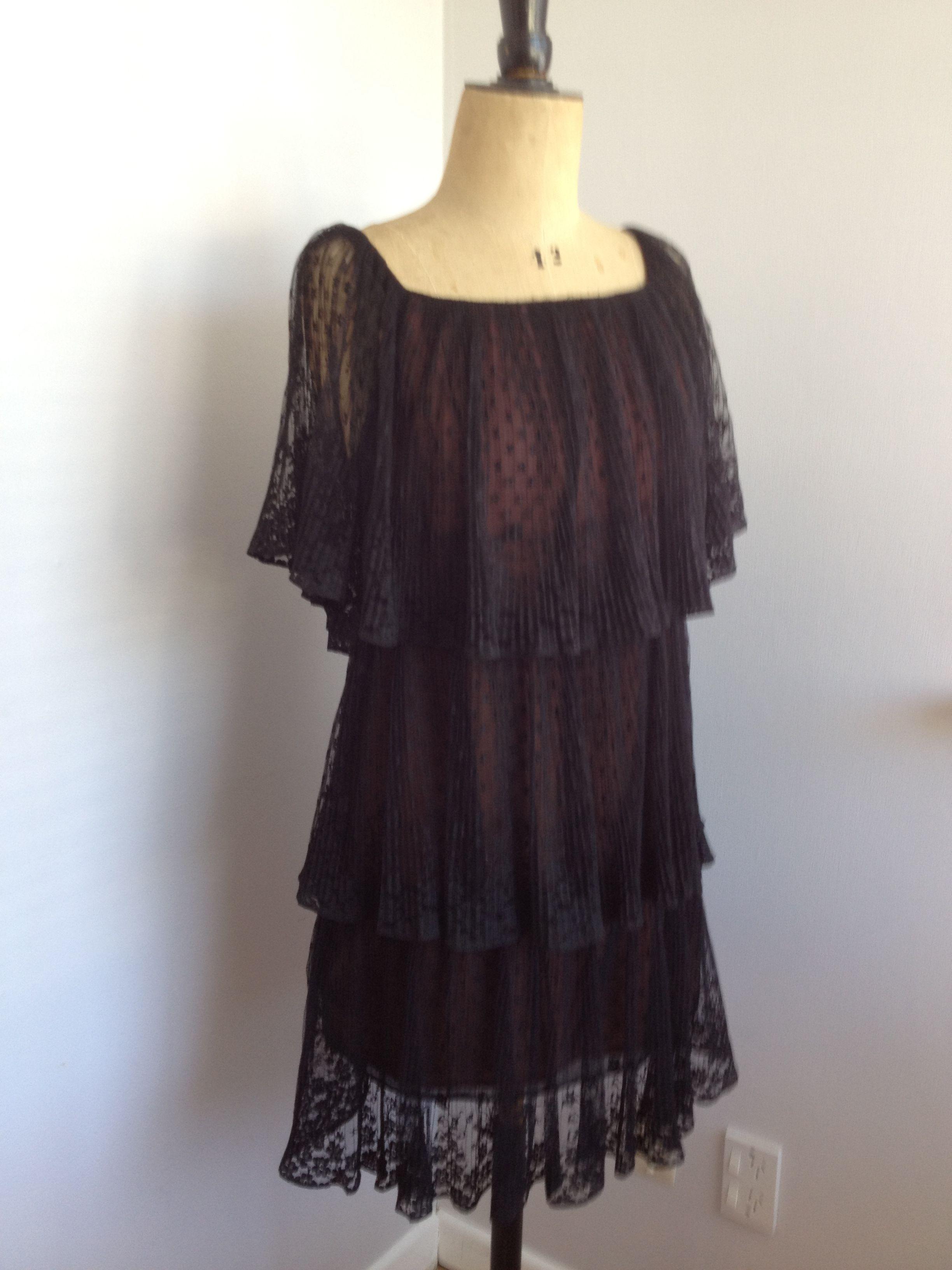 late 70s american designer dress Marita by Anthony Muto | ANTHONY ...