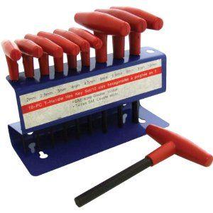 Am Tech T Handle Hex Key Set 10 Pieces 8 39 Con Imagenes Trabajo Electrico Herramientas Electrica