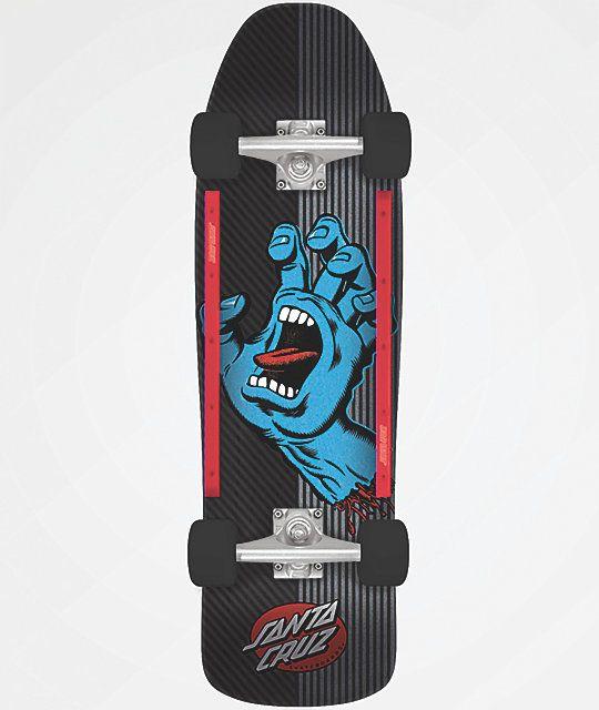 Santa Cruz Screaming Hand Metal Stripe 9 35