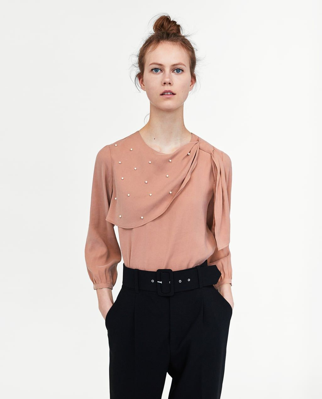 d20915b7 Women's Shirts & Blouses | New Collection Online | ZARA United States