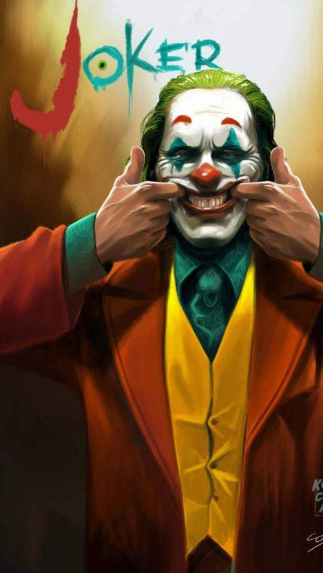 The Joker Smile Iphone Wallpaper Komiksy Komiks I Filmy