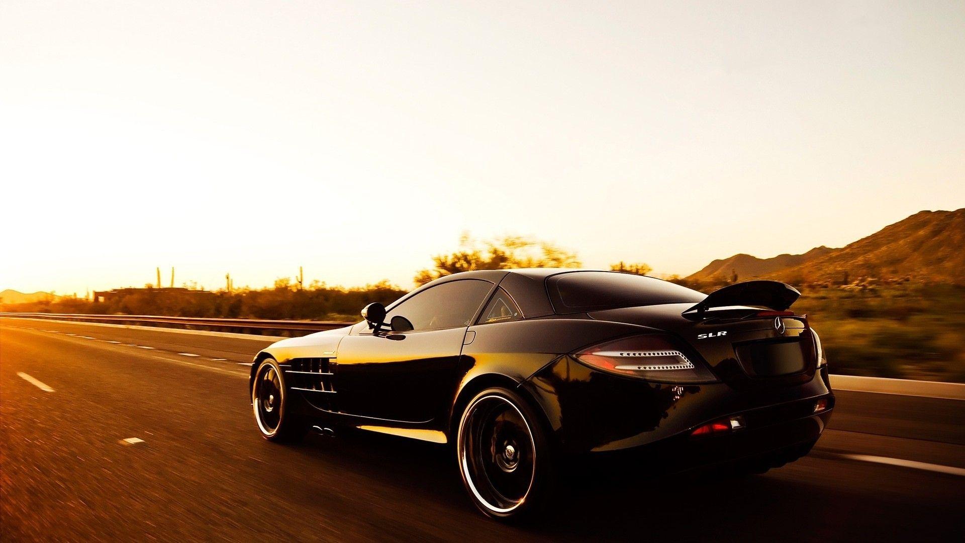 Download Black Mercedes Benz Slr Mclaren  Car Wallpaper Free By Warnerboutique Com