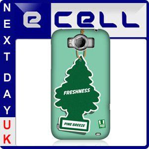 HEAD CASE PINE CAR FRESHENER DESIGN SNAP-ON BACK CASE COVER FOR HTC SENSATION XL
