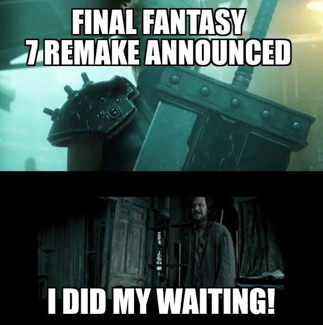 How We All Feel About The Ff7 Remake Final Fantasy Artwork