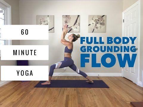 Power Vinyasa Yoga - 60 Minute Full Body Flow for Grounding & Balance