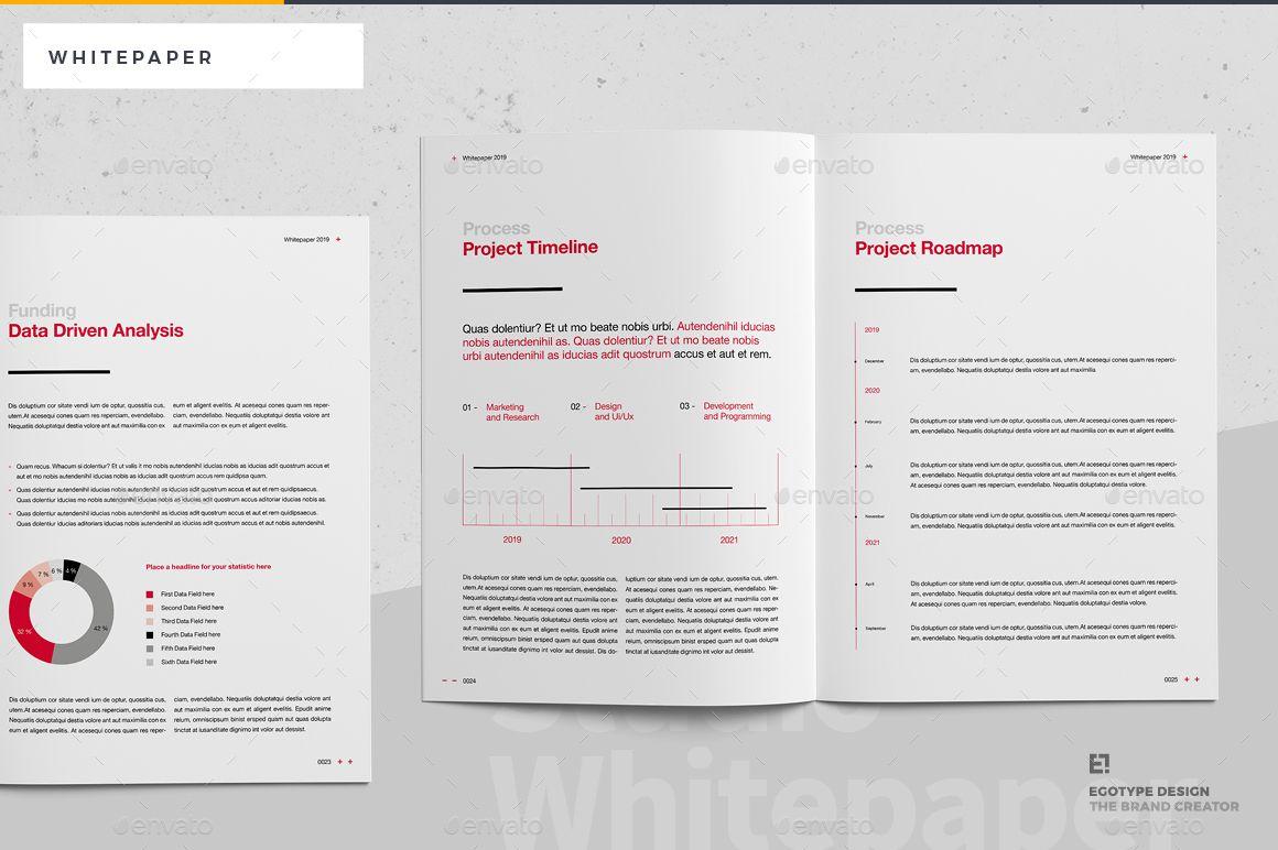 White Paper Ad White Sponsored Paper In 2020 Paper