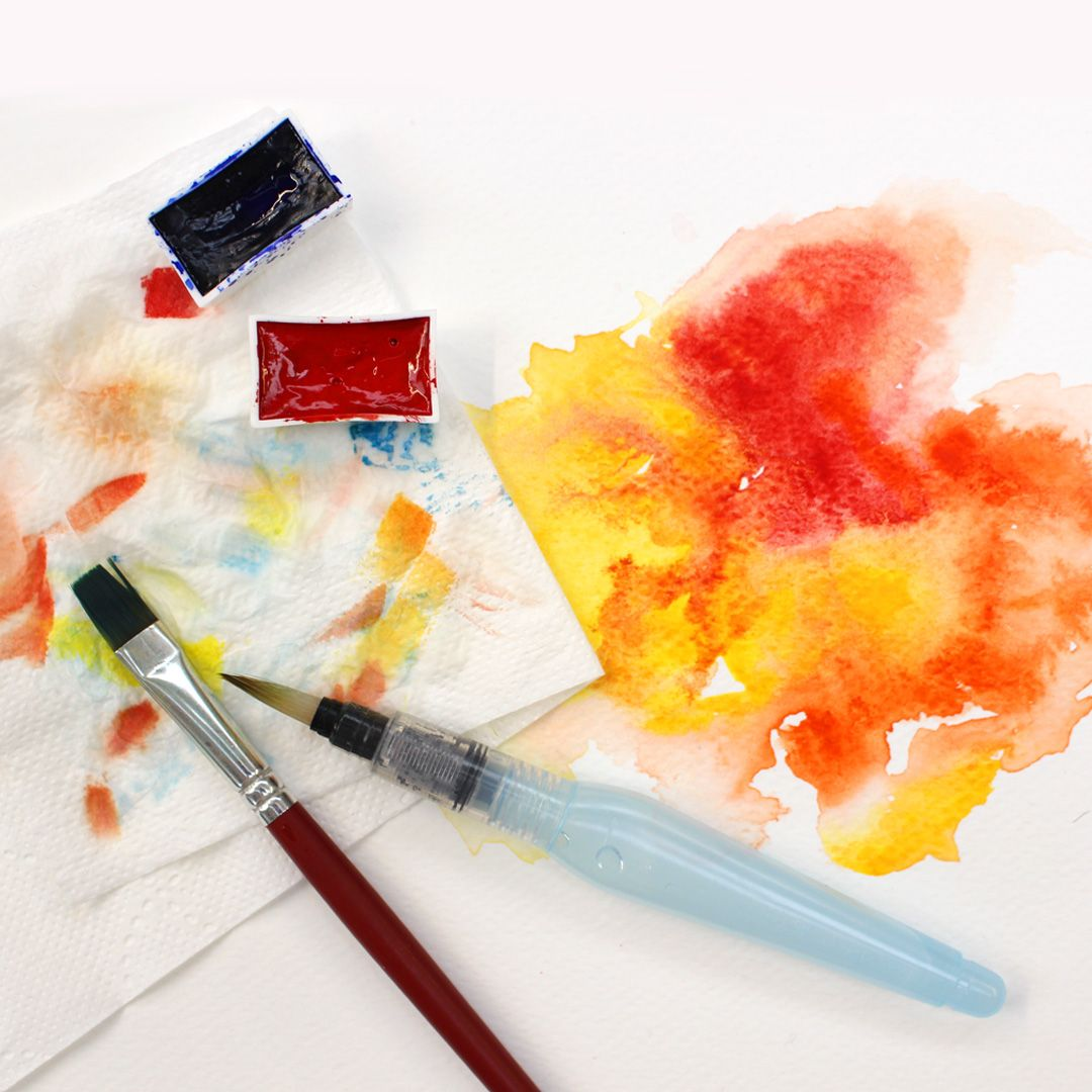 Explore Watercolour With Artway Products Our Watercolour Paper Is