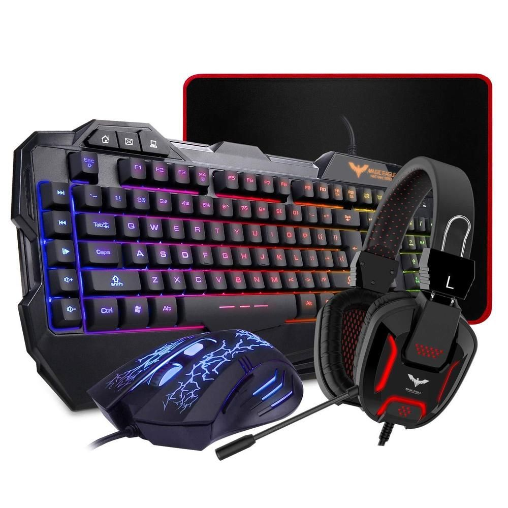 Gaming Keyboard Mouse Set Adapter for PS4 PS3 Xbox One and