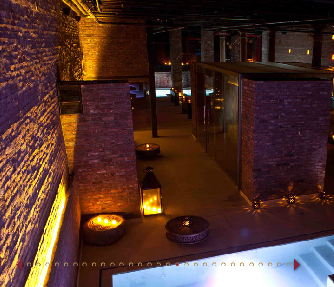 Check out my review of NYC's AIRE ancient baths on