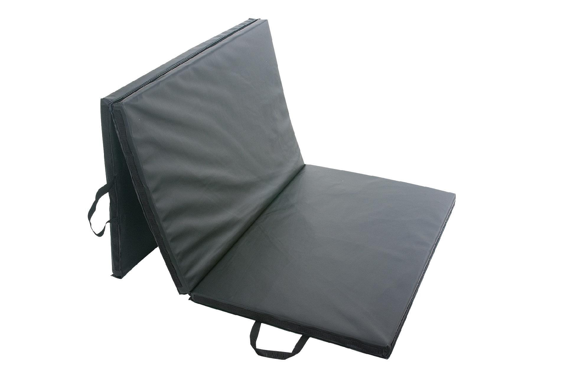 Sunny Health Fitness Folding Gym Mat Black Folding Gym Mat Gym Mats Mat Exercises
