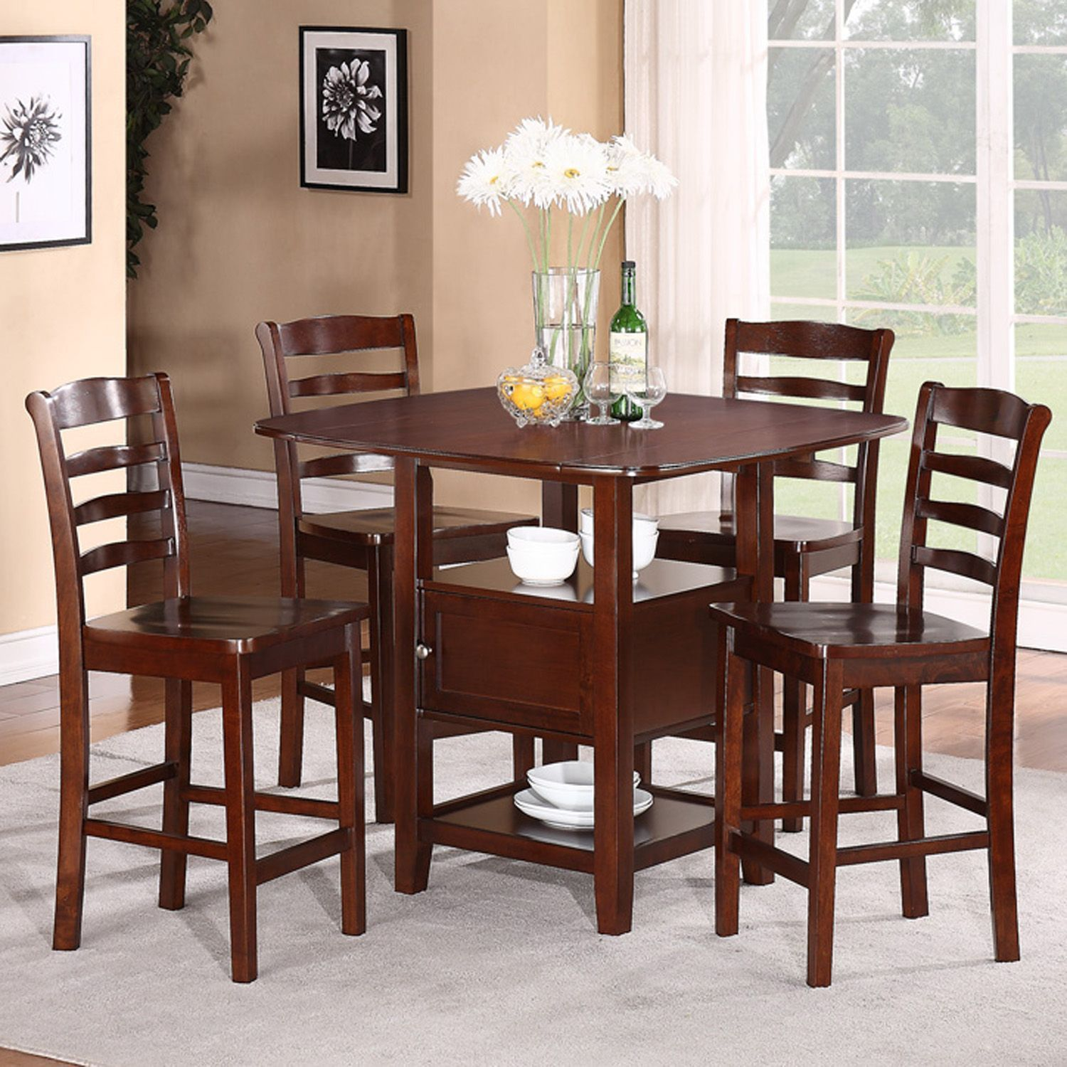 Choosing The Right Modern Kitchen Table Sets With Storage For An