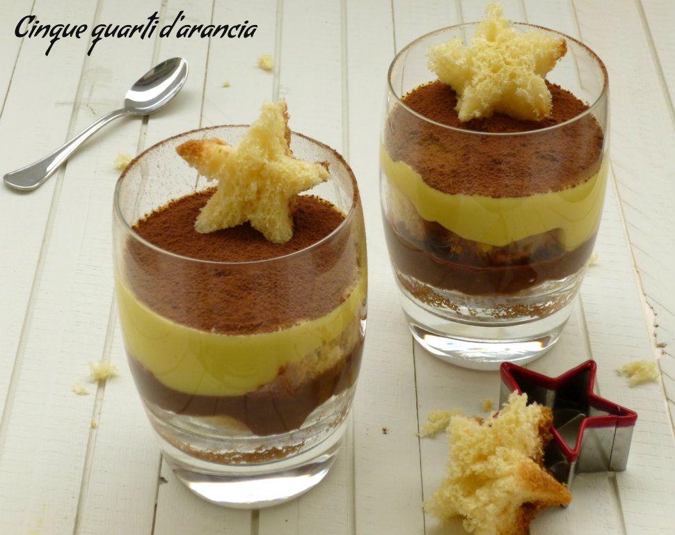 Zuppa inglese di pandoro, idea per un dolce natalizio