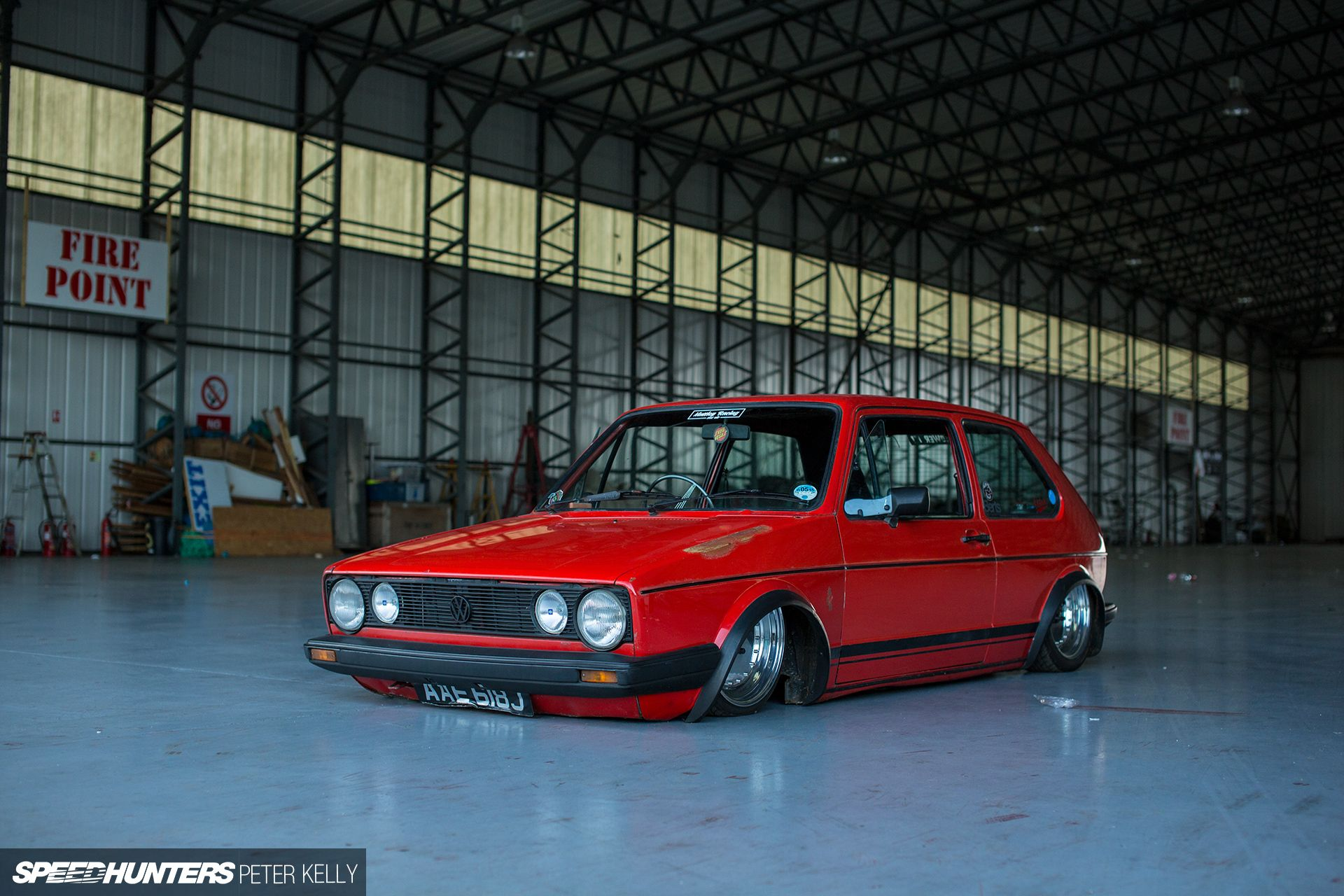 Pipey Kicked Off His Project Back In Early 2012 After Finding This GTI  Body, Which