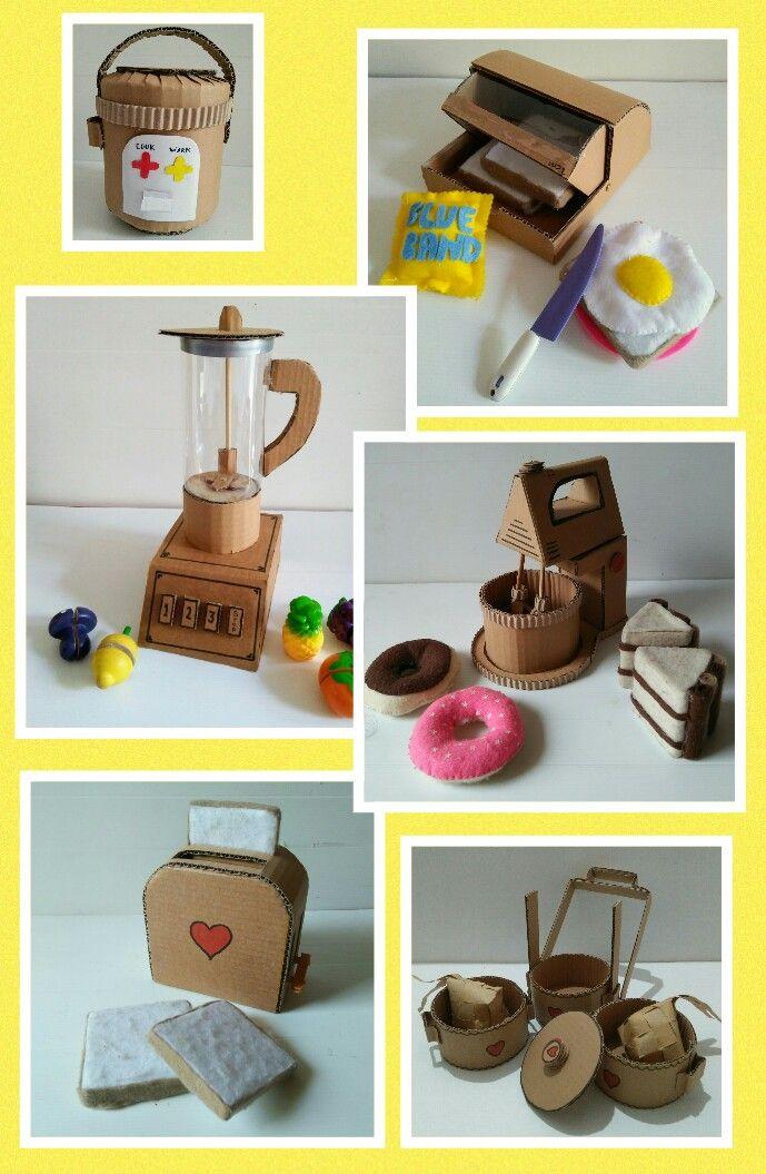 Cardboard Toys Pretend Play Diy Cardboard Furniture Cardboard Toys Cardboard Crafts