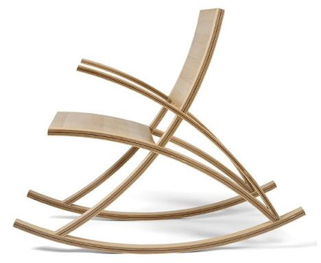 Simple Wooden Rocking Chair contemporary simple wooden rocking chairs chairtoby howes v in