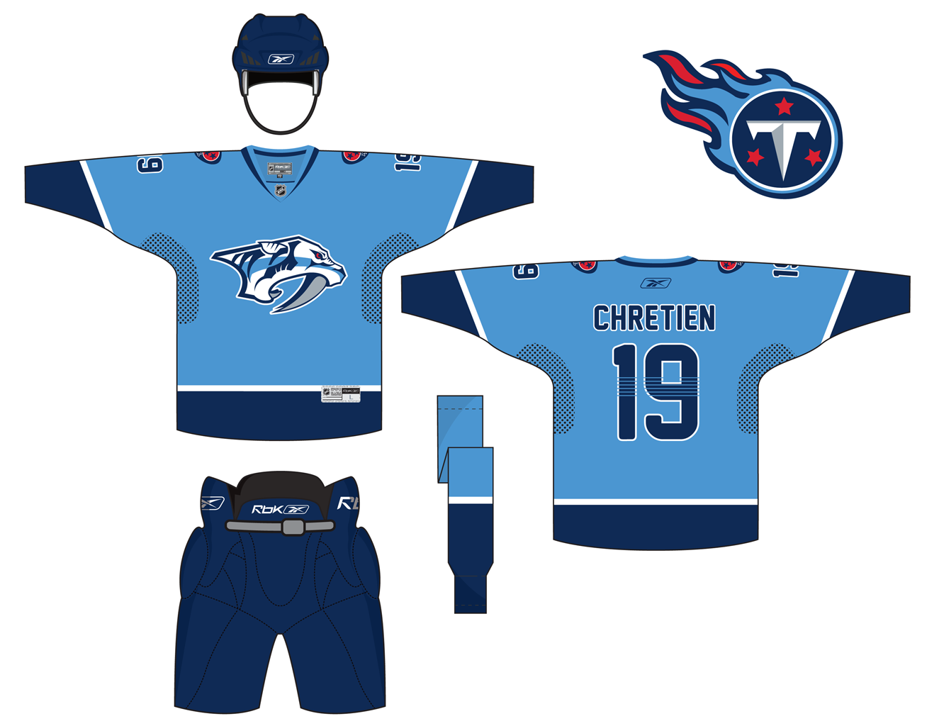 pretty nice 83d7d 321b0 Here is the second version of the Nashville Predators + ...