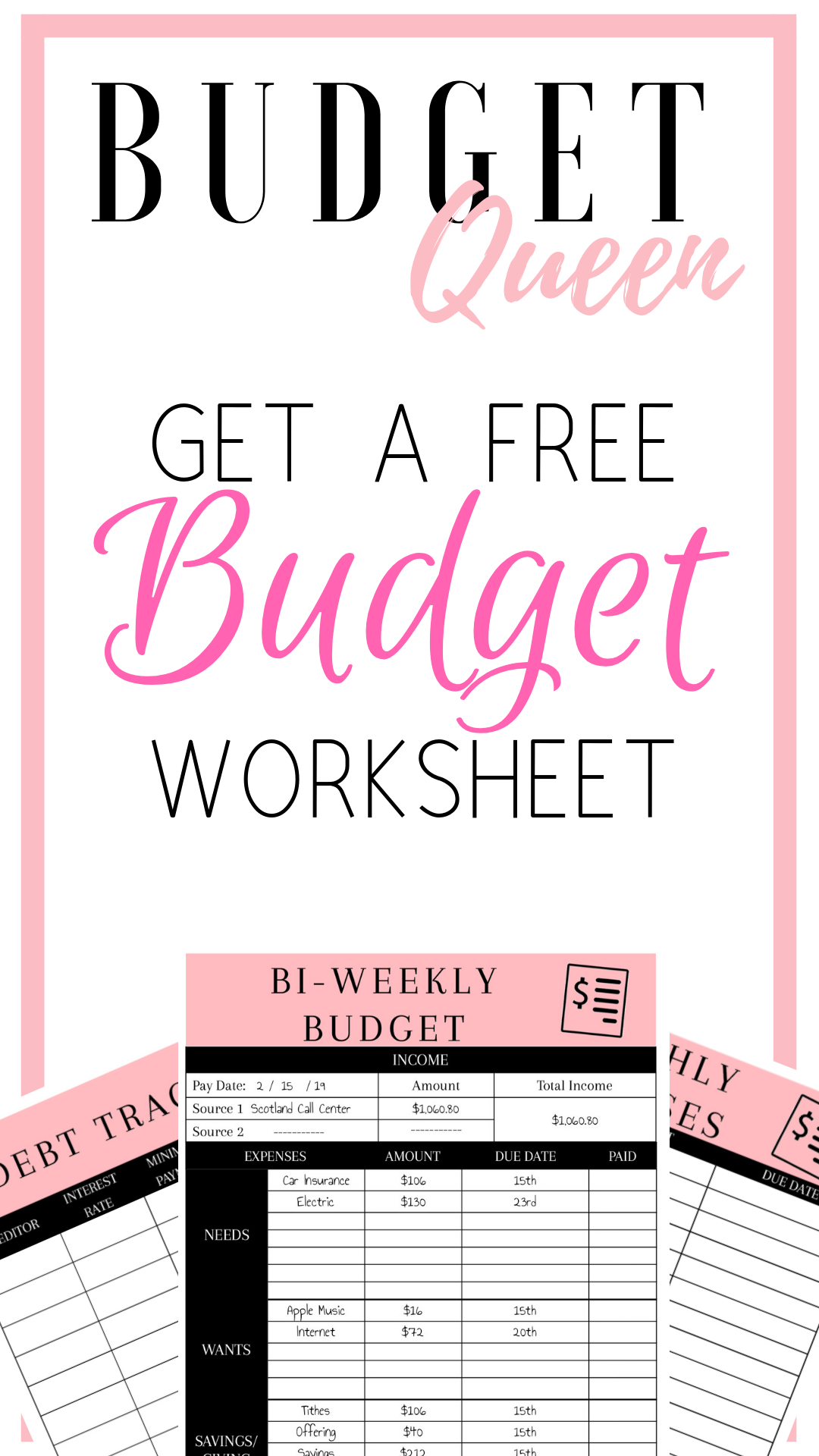 Budgeting Is Hard But It Can Be Easy When You Have A