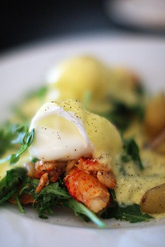 Lobster Benedict...oh my! #shellfish
