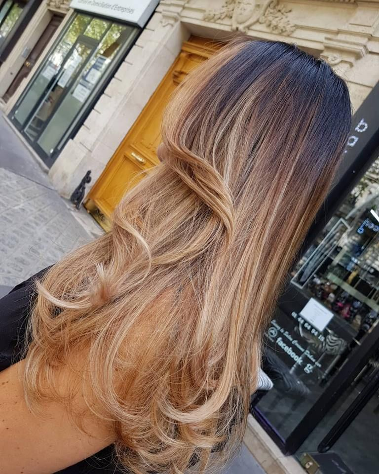 Coloration Les 11 Ombres Hair Blond Tendances 2019 Photos Balayage Cheveux Ombre Idees De Coiffures Blond