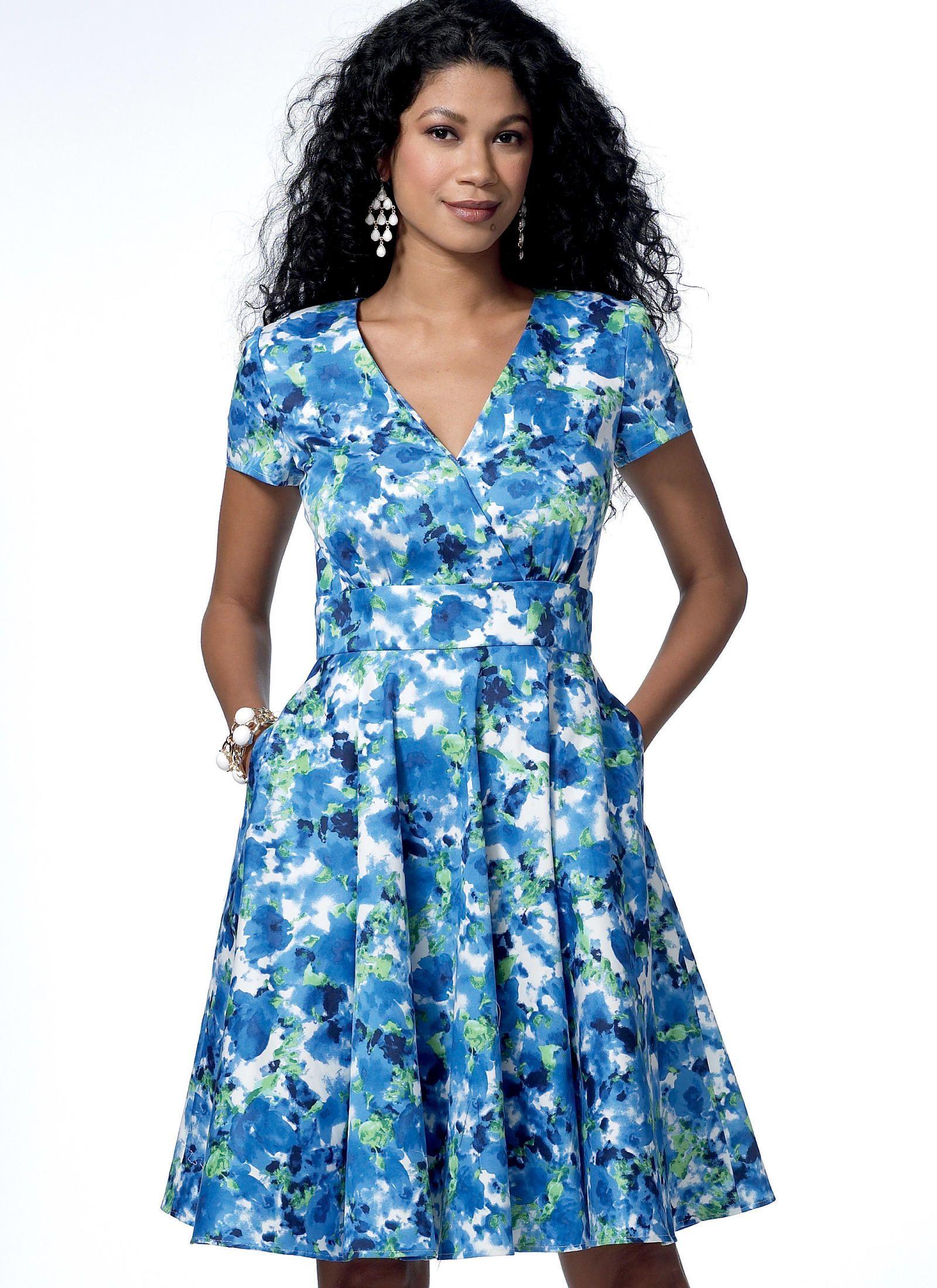 B6438 | Butterick Patterns | Fashion | Pinterest | Patterns, Sewing ...