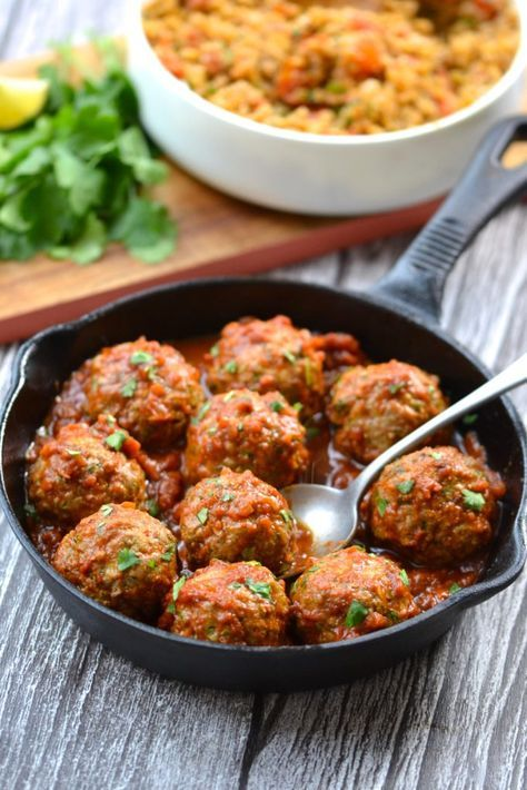 Mexican Meatballs - paleo, whole30