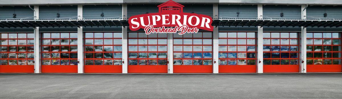 Superior Overhead Door Installs And Repairs A Broad Selection Of Commercial Garage Do In 2020 Commercial Garage Doors Commercial Garage Door Opener Garage Door Company