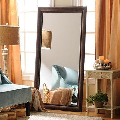 Bronze Full Length Mirror from Kirklands.com is just $100 ... on Floor Mirrors Decorative Kirklands id=67960
