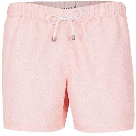 Topman Pink Marl Print Swim Shorts