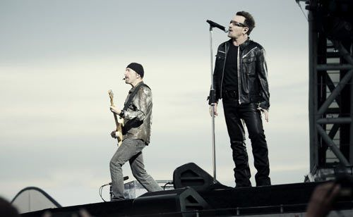 The Generation before me had the Beatles..  My Generation has U2..  IMHO  :)