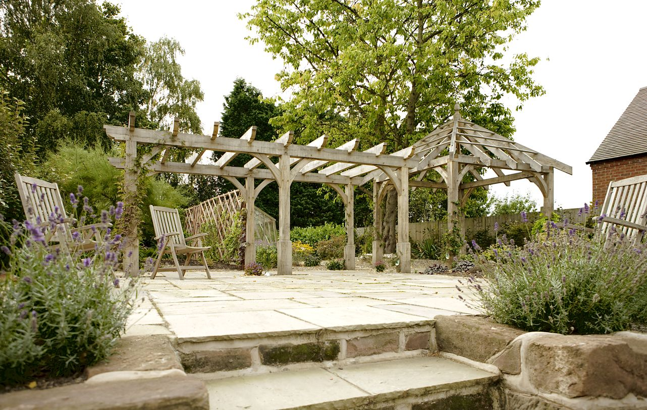 Oak pergola how does your garden grow pergolas