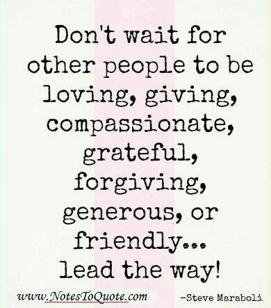 Inspirational Quotes About Kindness, Love, Generosity ...  Kindness Captions