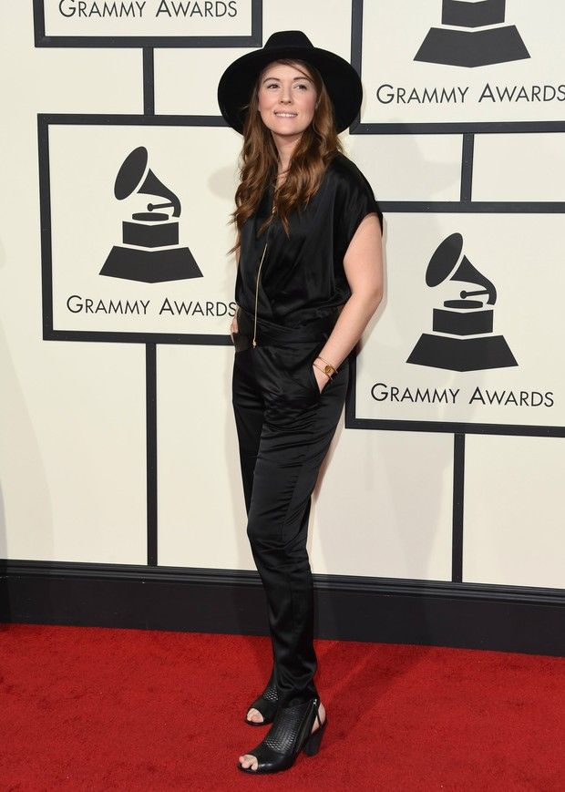 Brandi Carlile no Grammy 2016 (Foto: Getty Images)