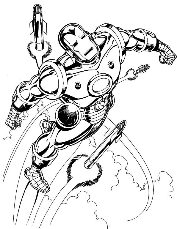 iron man superheroes coloring pages - Coloring Pages Superheroes Ironman