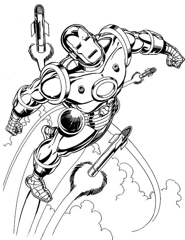 Iron Man Superheroes Coloring Page Superhero Coloring Pages Superhero Coloring King Coloring Book