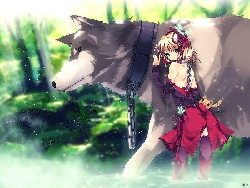 Belle et le loup loup manga pinterest manga loup et - Dessin manga animaux ...
