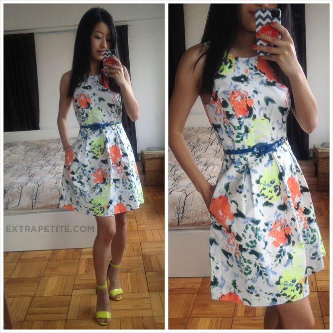 Gap Floral A-Line dress