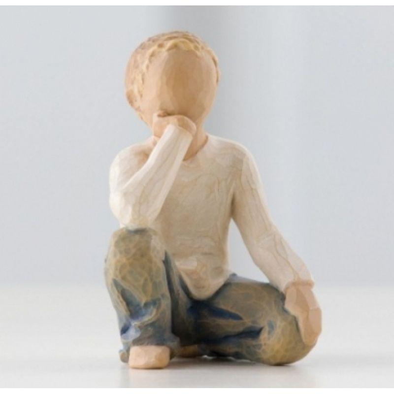 Willow Tree Figur \'Neugieriges Kind\'