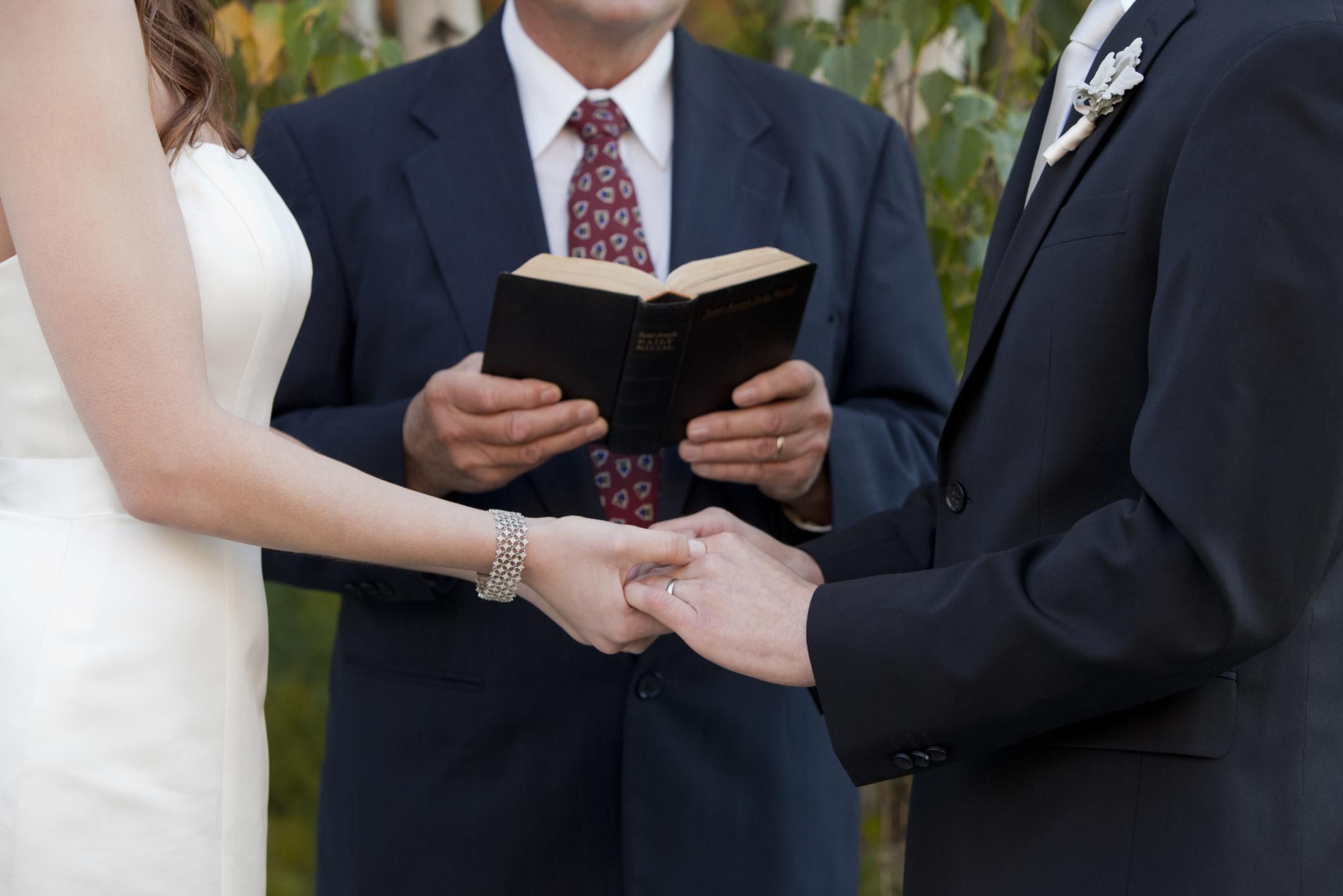 The Charge To Bride And Groom Sample Wedding Vows Our Christian
